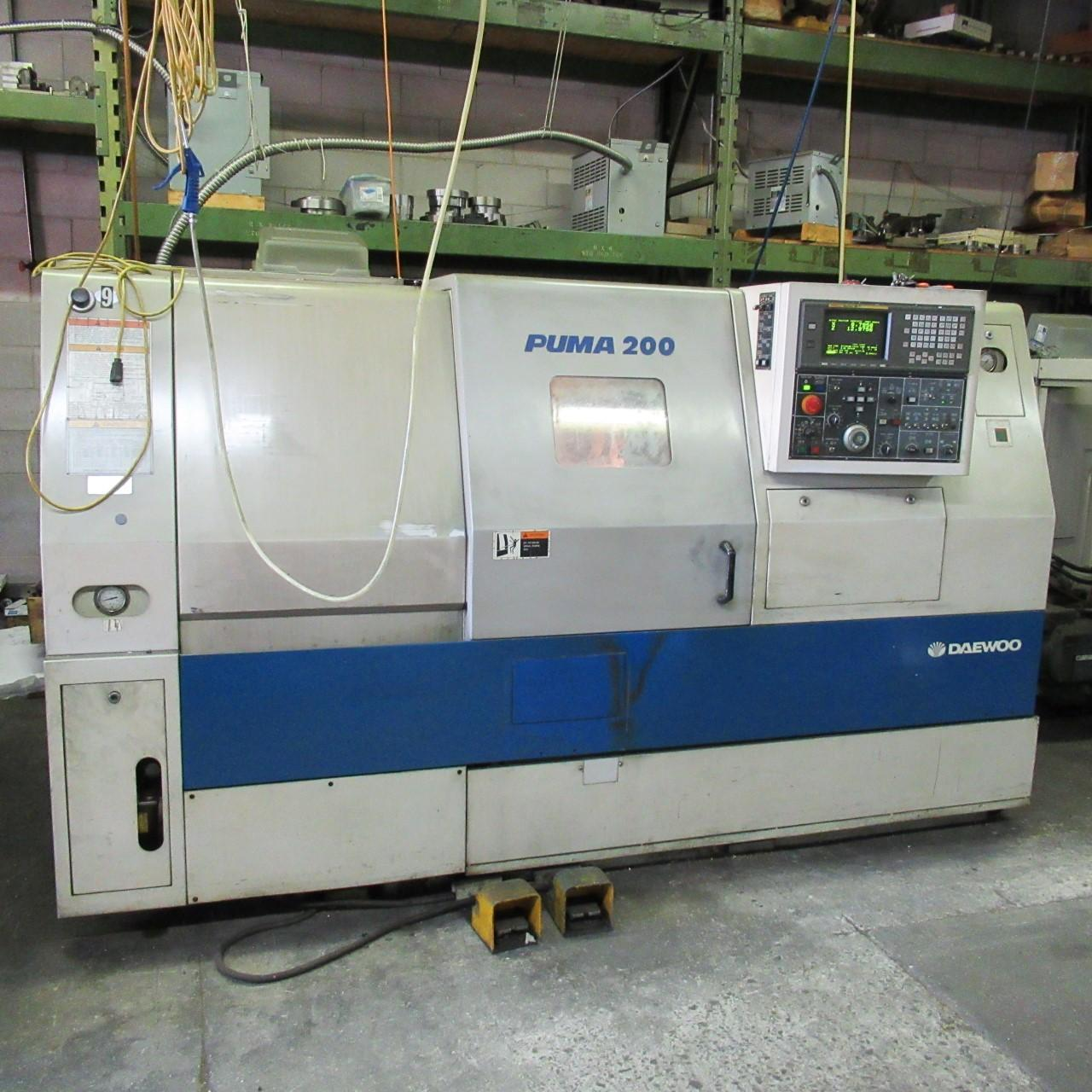 Daewoo PUMA-200LC Turning Center