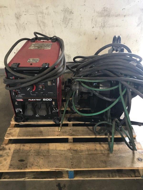 Lincoln Electric Welders w/ Wire Feeders