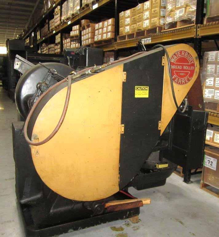 "3/8""  Waterbury Heavy Frame #20 Automated Flat Die Thread Roller"