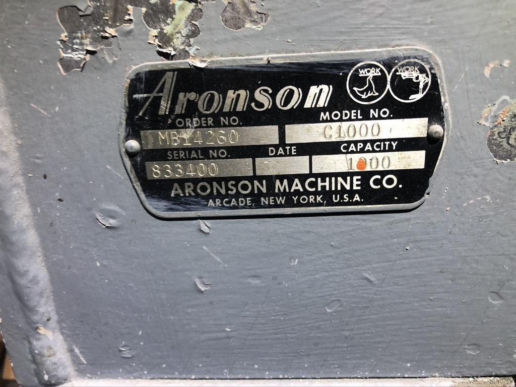 1000 LB. ARONSON MODEL C1000 AUTO BALANCE POSITIONER