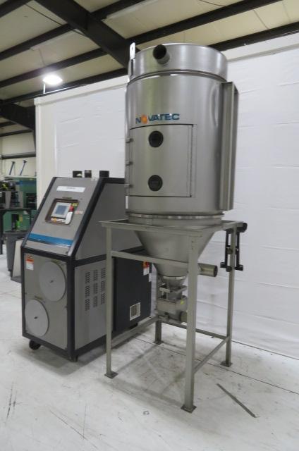 Novatec Used NW-200N NovaWheel Desiccant Dryer, Approx 200 lbs/hr, 460V, Yr. 2013
