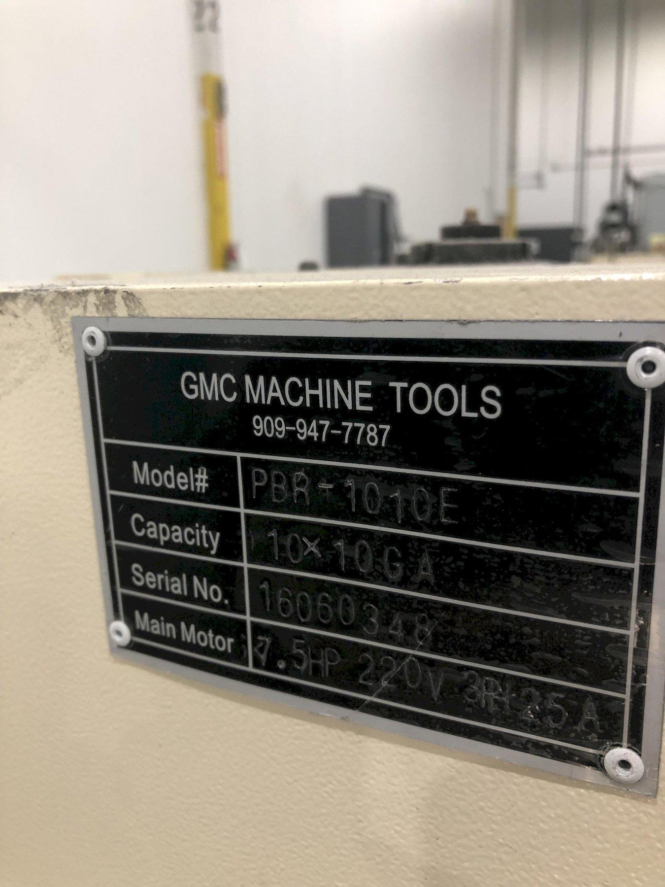 10' X 10 GAUGE GMC MODEL #PBR-1010E POWER PLATE BENDING ROLL: STOCK #15071