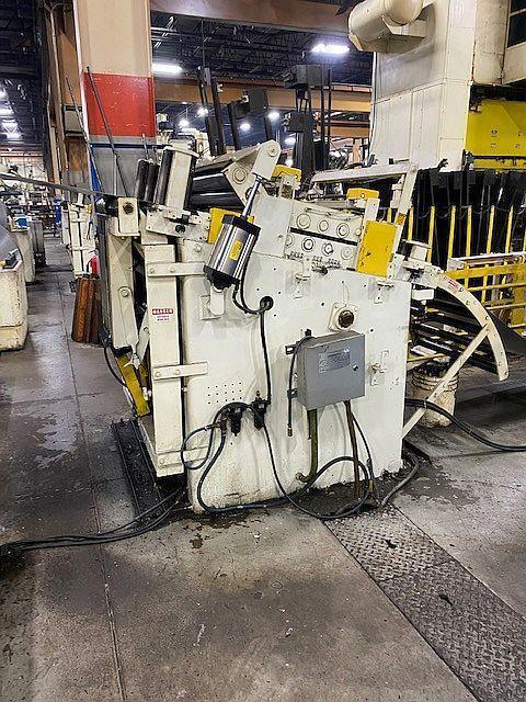 "30,000 lbs x 40"" x .135"" Rowe Servo Coil Feed Line"