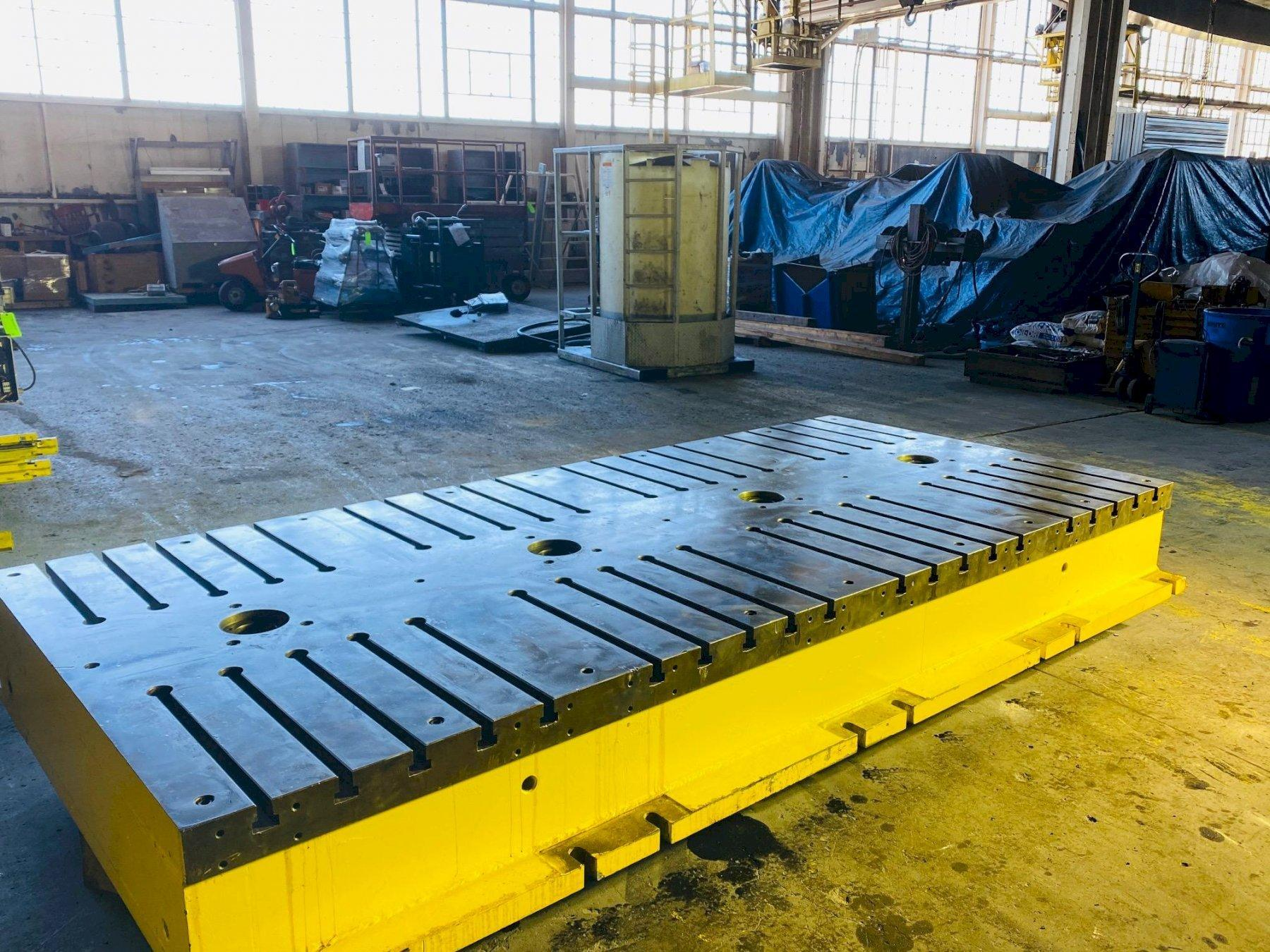"65"" x 143"" x 16"" T Slotted Floor Plate"