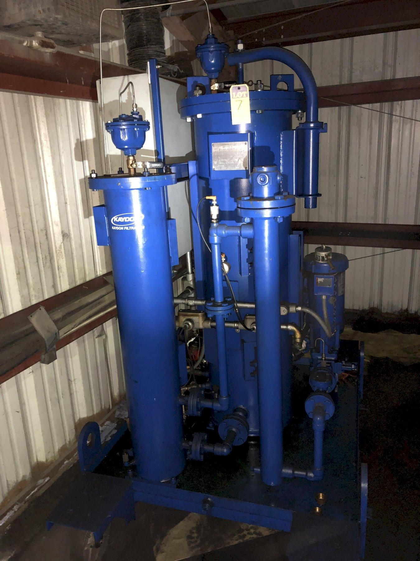 2010 Kaydon portable oil/water separator s/n 650015
