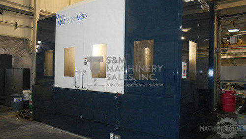 MAKINO MCC 2013VG (6) AXIS HORIZONTAL MACHINING CENTER w/Fanuc Professional 5, 3+2 Indexing Head, 120 Position ATC, Full 4th, 60