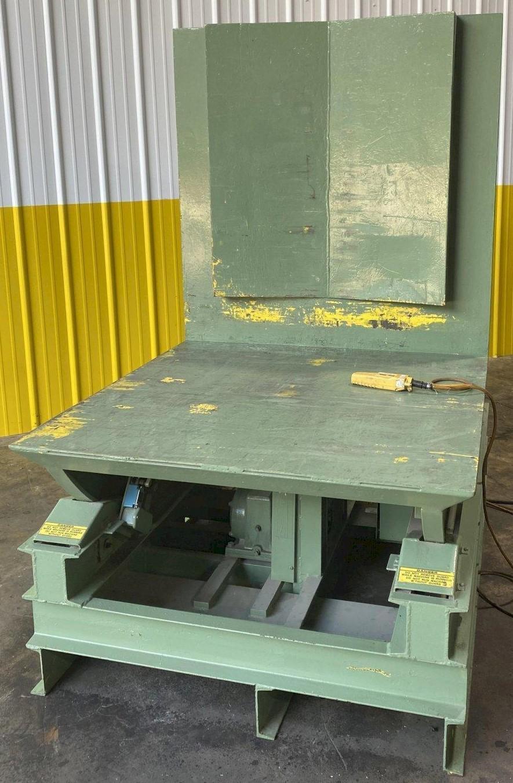 6,000 LB WELD-BILT MODEL #CR-6000 UPENDER / COIL FLIPPER STOCK #2814