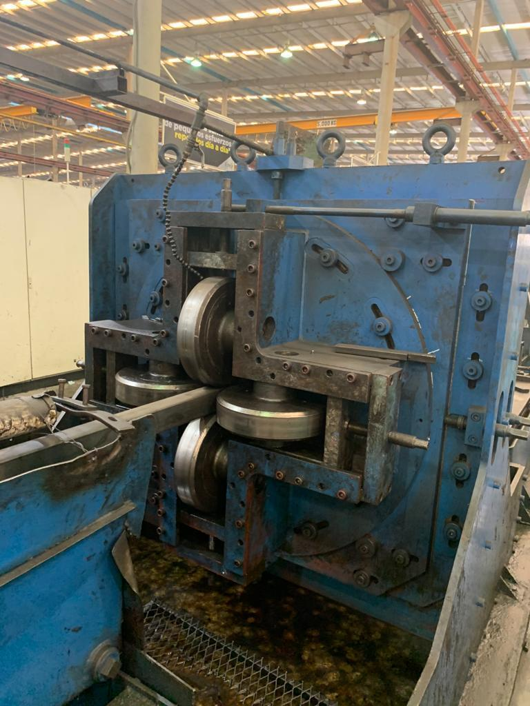 """4"""" x 4"""" x .200"""" Yoder  Form Square / Weld Square Pipe Mill"""