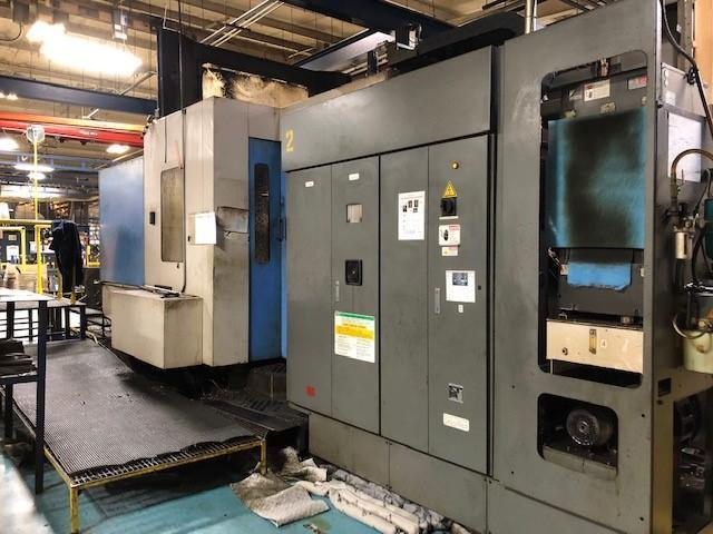 TOYODA #FA800 4 AXIS HORIZONTAL MACHINING CENTER: STOCK #12972