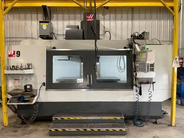 "USED HAAS 84"" X 40"" CNC VERTICAL MACHINING CENTER MODEL VF-9, Stock # 10818, Year 2018"