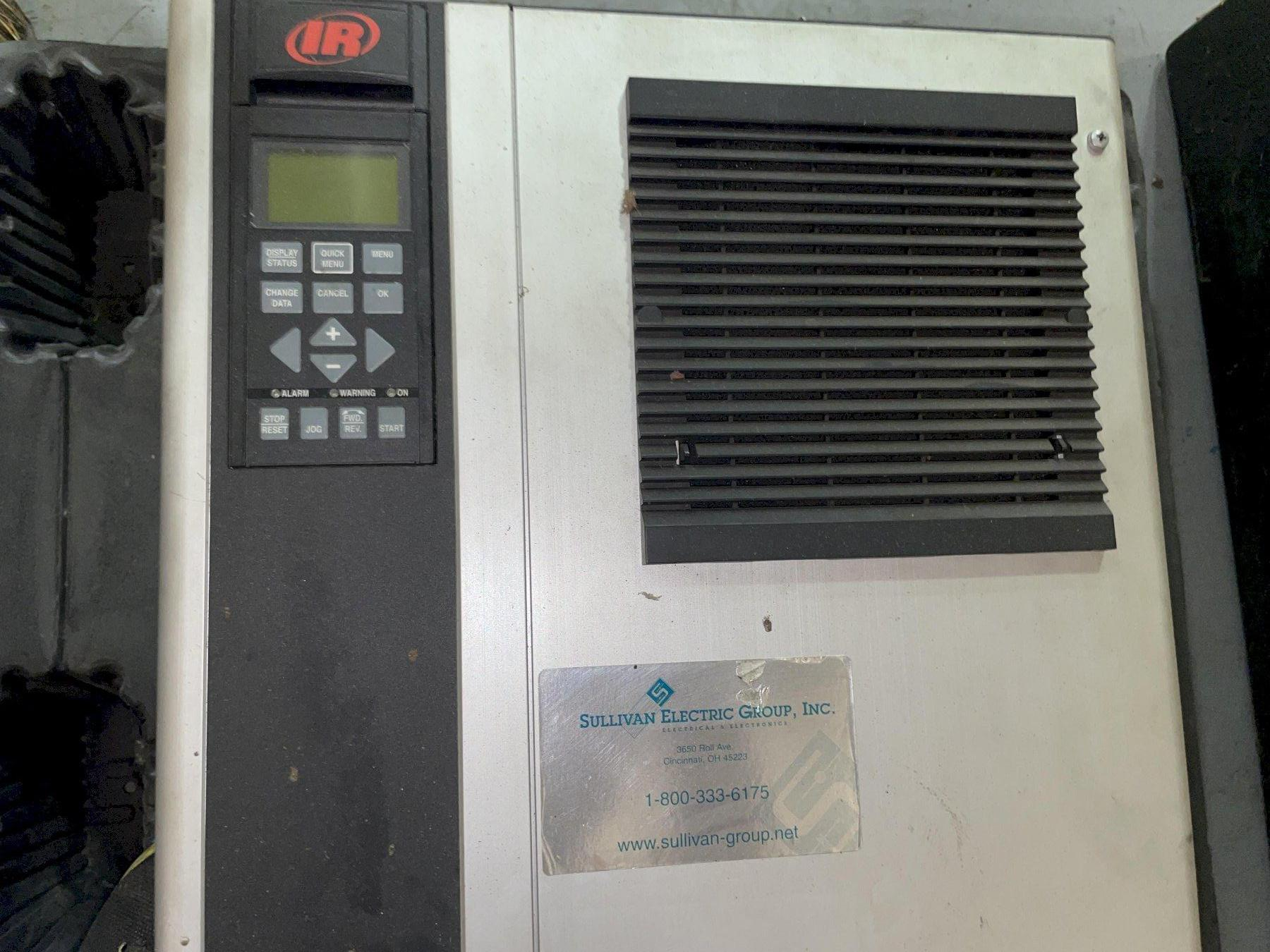 125 HP INGERSOLL RAND MODEL SSR-EP125 ROTARY SCREW AIR COMPRESSOR W/ IR SERVO DRIVE: STOCK #15458