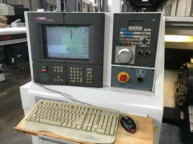 "CINCINNATI MILACRON HAWK 150, Siemens Acramatic 2100 CNC, 15"" Swing, 6"" Chuck, 10"" Max Turning Diameter, 12 Position Turret, LNS Bar Feed, Part Catcher, New 1998."