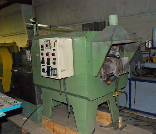 OLIMPO MECCANICA 850 C STATIC ANNEALING FURNACE WATER QUENCH (13462)