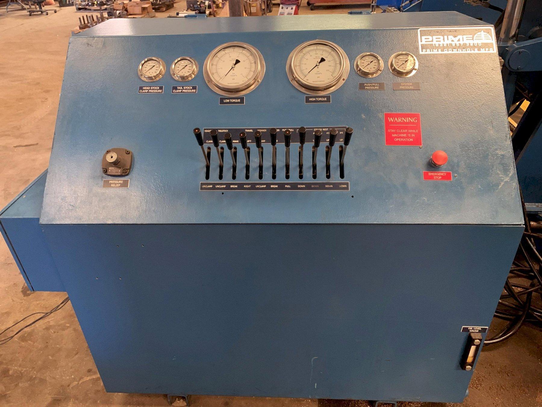 USED, PRIME DOWNHOLE TS12-120 BREAKOUT MACHINE