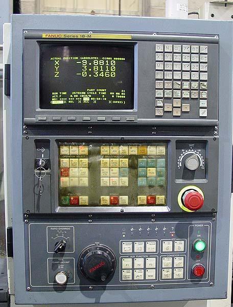 "Leadwell V-30, Fanuc 18M CNC, (2) Pallet, X-30"",Y=16"",Z=16"", 8000 RPM, 20 ATC, New 2002."
