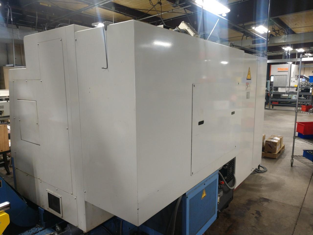 MAZAK SQT-18MSY CNC LATHE