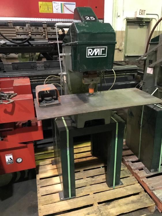 USED RMT 12 TON PNUEMATIC TOGGLE PRESS , Model 12C, 12 Tons, Stock No. 10364