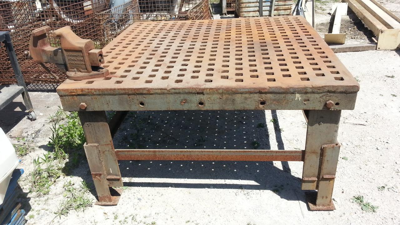 1 - PREOWNED ACORN WELDING TABLE