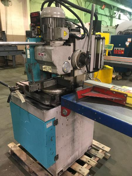 USED KMT C 360 SA SEMI-AUTOMATIC VERTICAL COLUMN COLD SAW WITH 6' TIGER STOP, Year 2006, Stk# 10571
