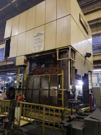 5000 ton Schuler SHP 50000-3150/2150 Hydraulic Press, New 2000