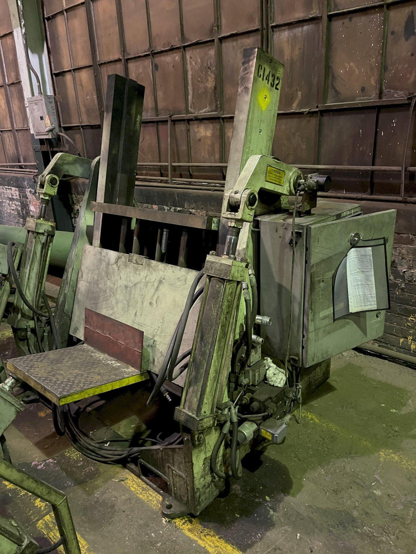 """Hall model RT3 permenant molding machine with controls s/n 6514, 33"""" x 20"""" platen"""