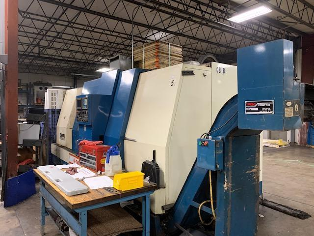 "31"" Swing, 27"" Turning, 5.2"" Spindle Bore, 2K RPM, Fanuc 16T, Chip Conveyor, Tailstock - 2 Available!"