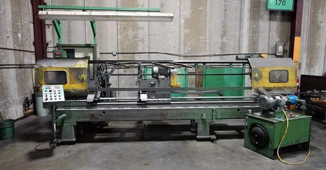 """3"""" HAVEN Model #912A Double End Tube Finishing Machine (13804)"""