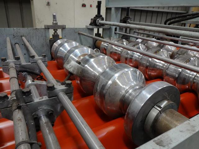 22 Stand Roof Tile (3 Cassette Type) Complete Rollforming Line