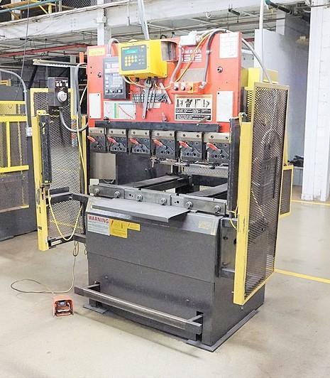 35 TON AMADA MODEL RG-3512LD HYDRAULIC CNC PRESS BRAKE: STOCK #13418