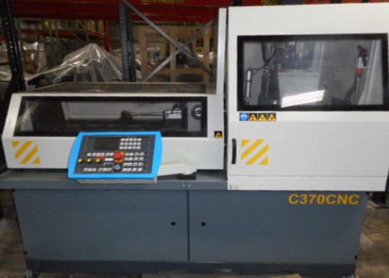 USED HYD-MECH C370 CNC FULLY AUTOMATIC COLD SAW, 2015, Stock No. 10578