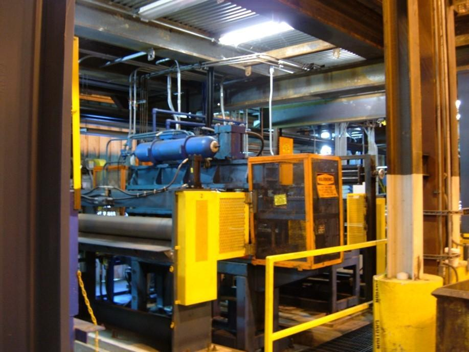 "65"" x .080""  x 30,000lbs Hunter Eng. Aluminum Cleaning Line (2007)"