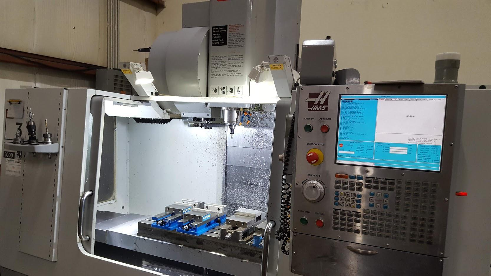 2008 HAAS VF-3 VERTICAL MACHINING CENTER