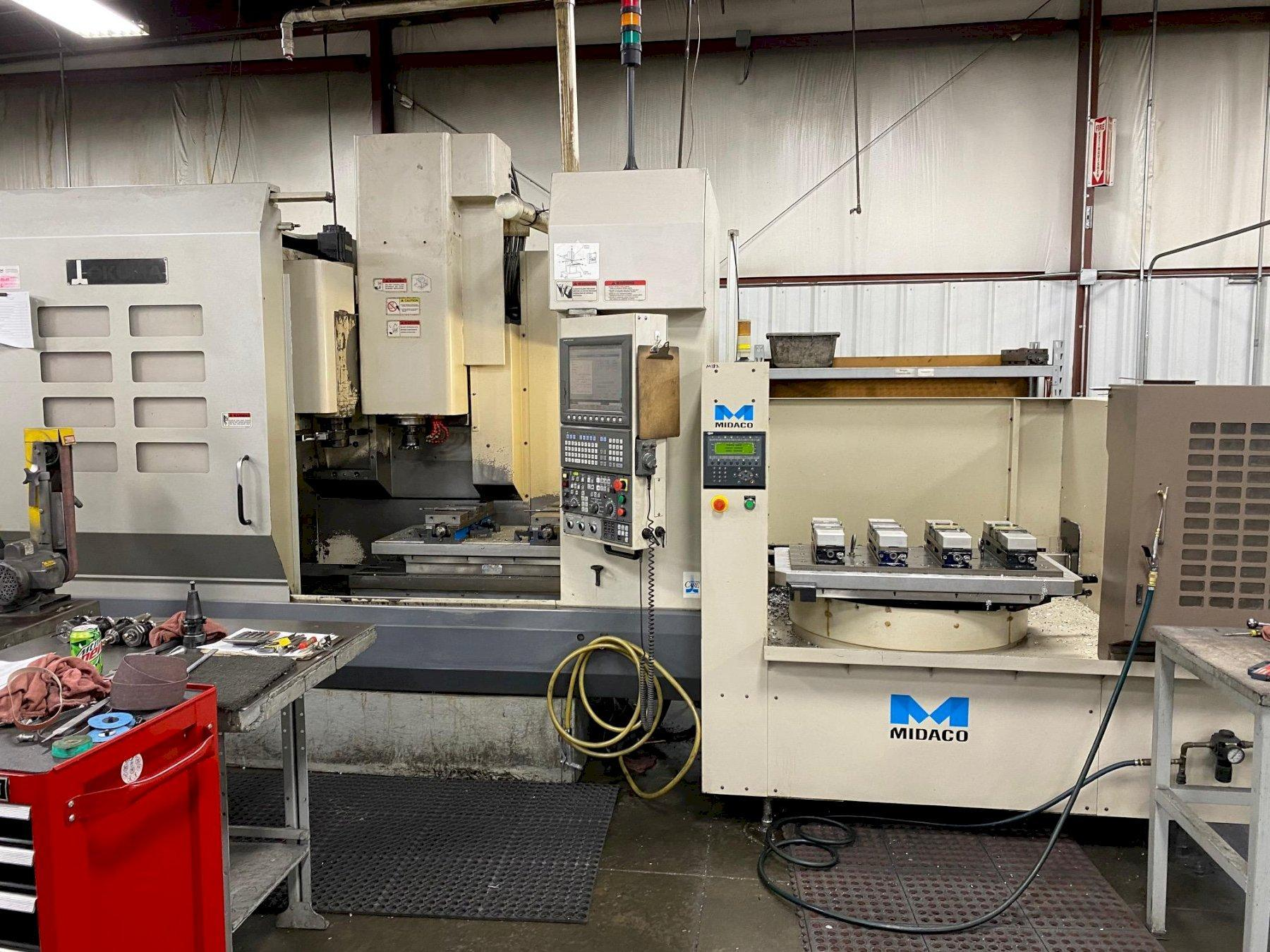 Okuma MC-V4020 CNC Vertical Machining Center