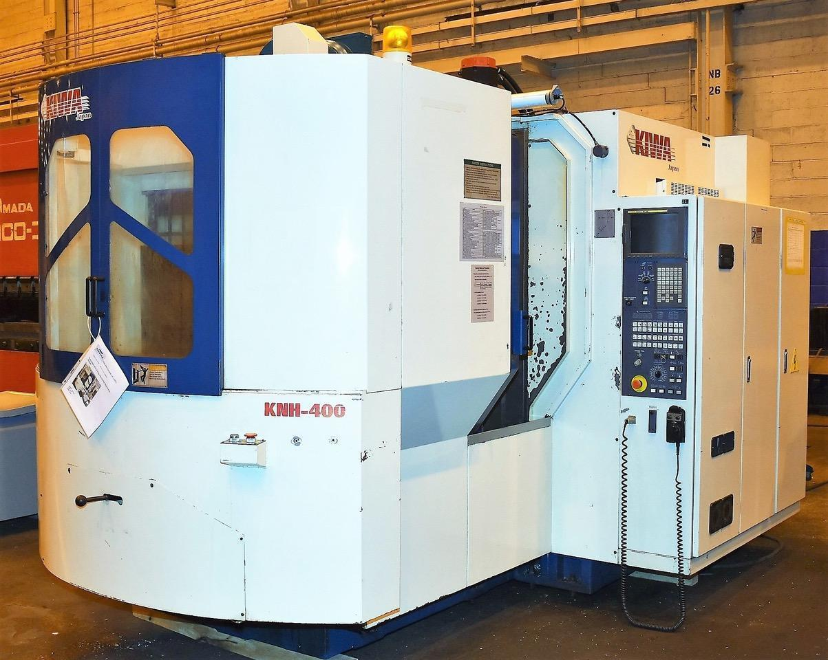 Kiwa Model KNH-400 4-Axis Horizontal Machining Center, Mfg. 2001