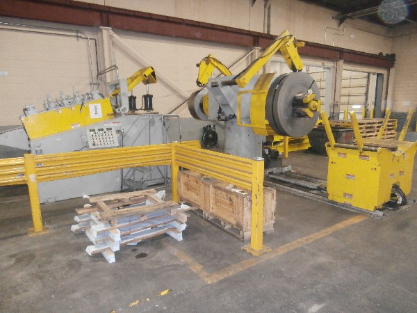 "(S) Coe Press Coil Reel And Straightener Combination 15,000 Lbs. x 30"" Wide x .200"""