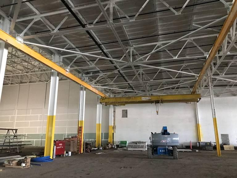 10 Ton R&M Double Girder Underhung/Underslung Overhead Bridge Crane