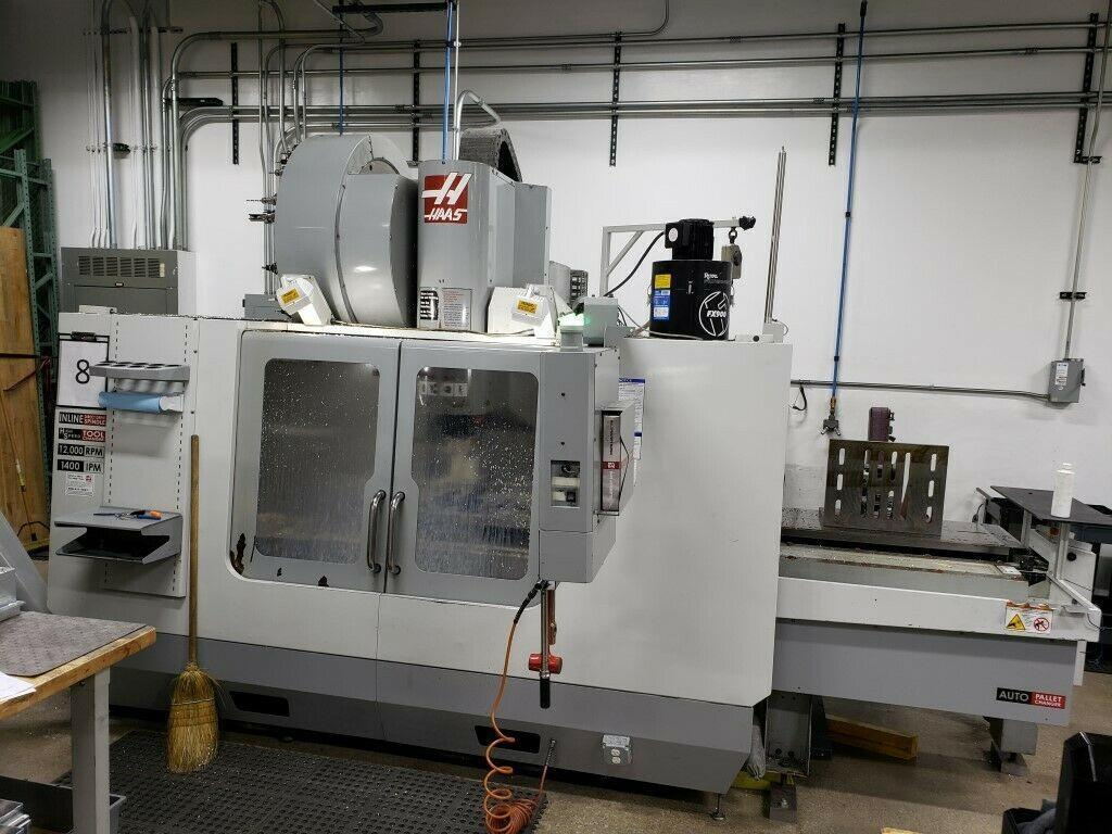 2007 HAAS VF-3SS APC VERTICAL MACHINING CENTERS