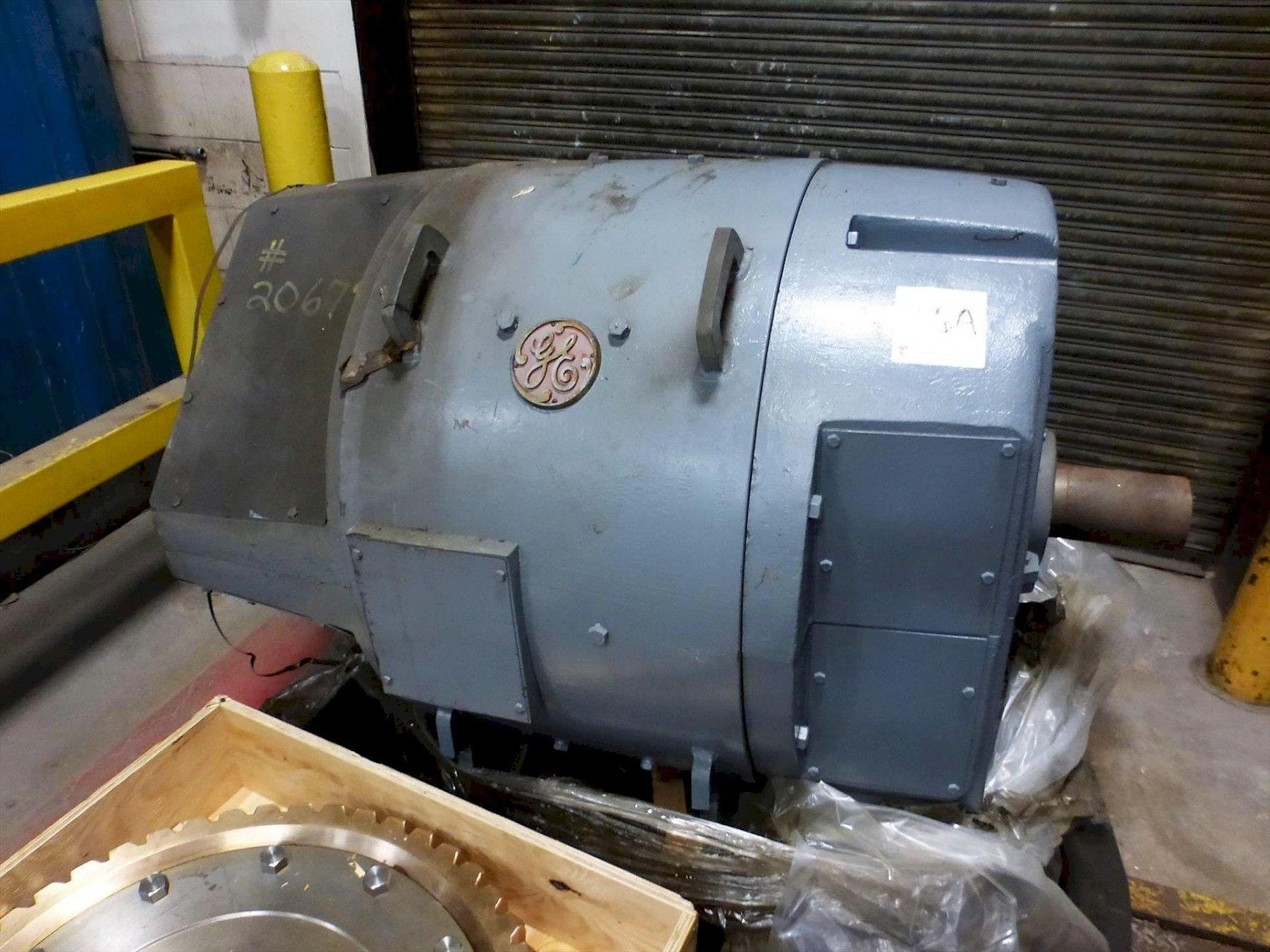 150 HP GE REPLACEMENT MOTOR FOR DRAW LINE: STOCK 13579