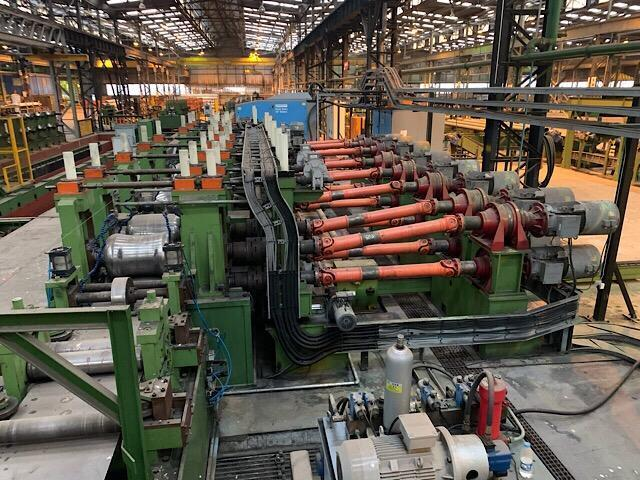 """8.6"""" (219mm) x 8.0mm FD Rafted Tube Mill New 2016 with Hydrostatic Tester, Beveling and Packaging"""