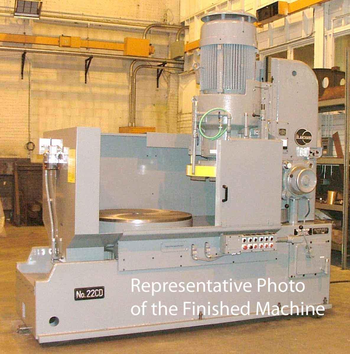 """Blanchard #22HD-42, 42"""" Geared Head Vertical Spindle Rotary Surface Grinder, Remanufactured W/ 1 Yr Warranty"""