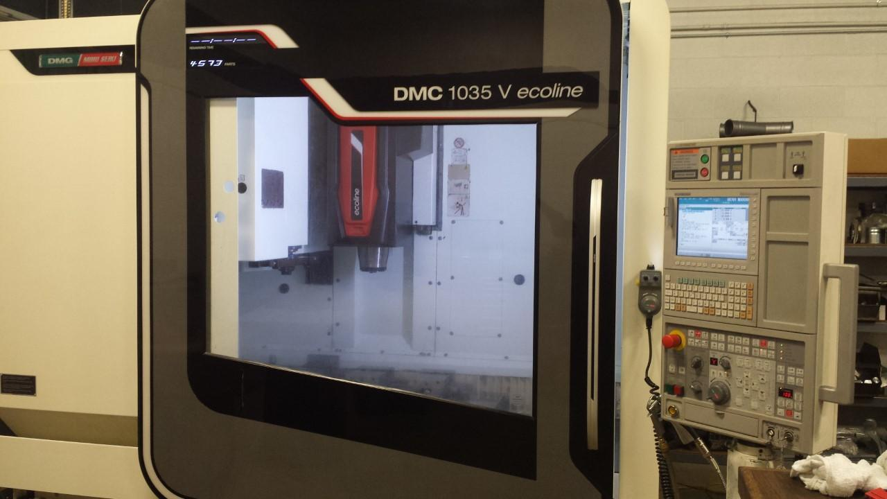 2013 DMG MORI DMC-1035-V ECO VERTICAL MACHINING CENTER