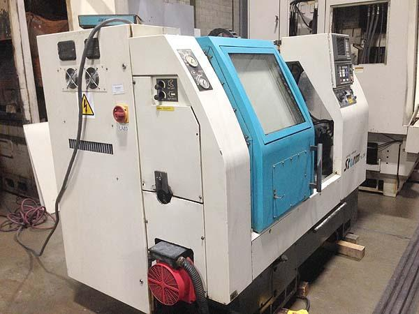 """CLAUSING COLCHESTER STORM 200, Fanuc 0T CNC Control, 10"""" 3-Jaw Power Chuck, 20.86"""" Swing over Bed, 12.99"""" Swing Over Carriage, 24.7"""" Max Turning Length, Programmable Tailstock, New 1996."""