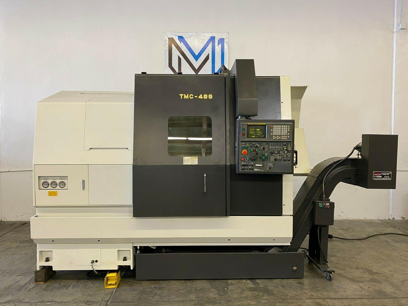 NAKAMURA TMC-400 CNC TURNING CENTER