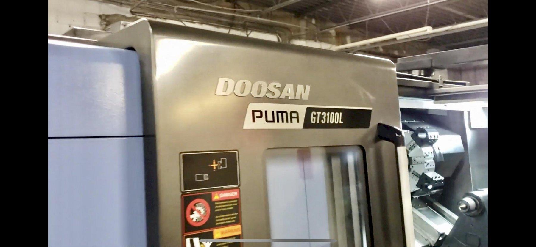2018 Doosan Puma 3100L CNC Turning Center
