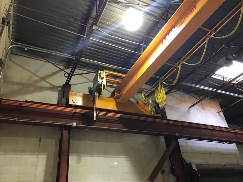 5 Ton and 10 Ton Kone Crane System 90' of run way