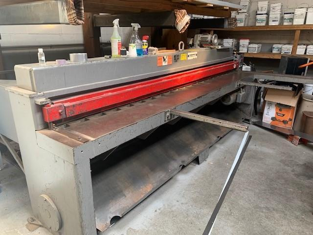 14 Ga. x 10 ft., Roper Whitney Power Shear, Model 10M14