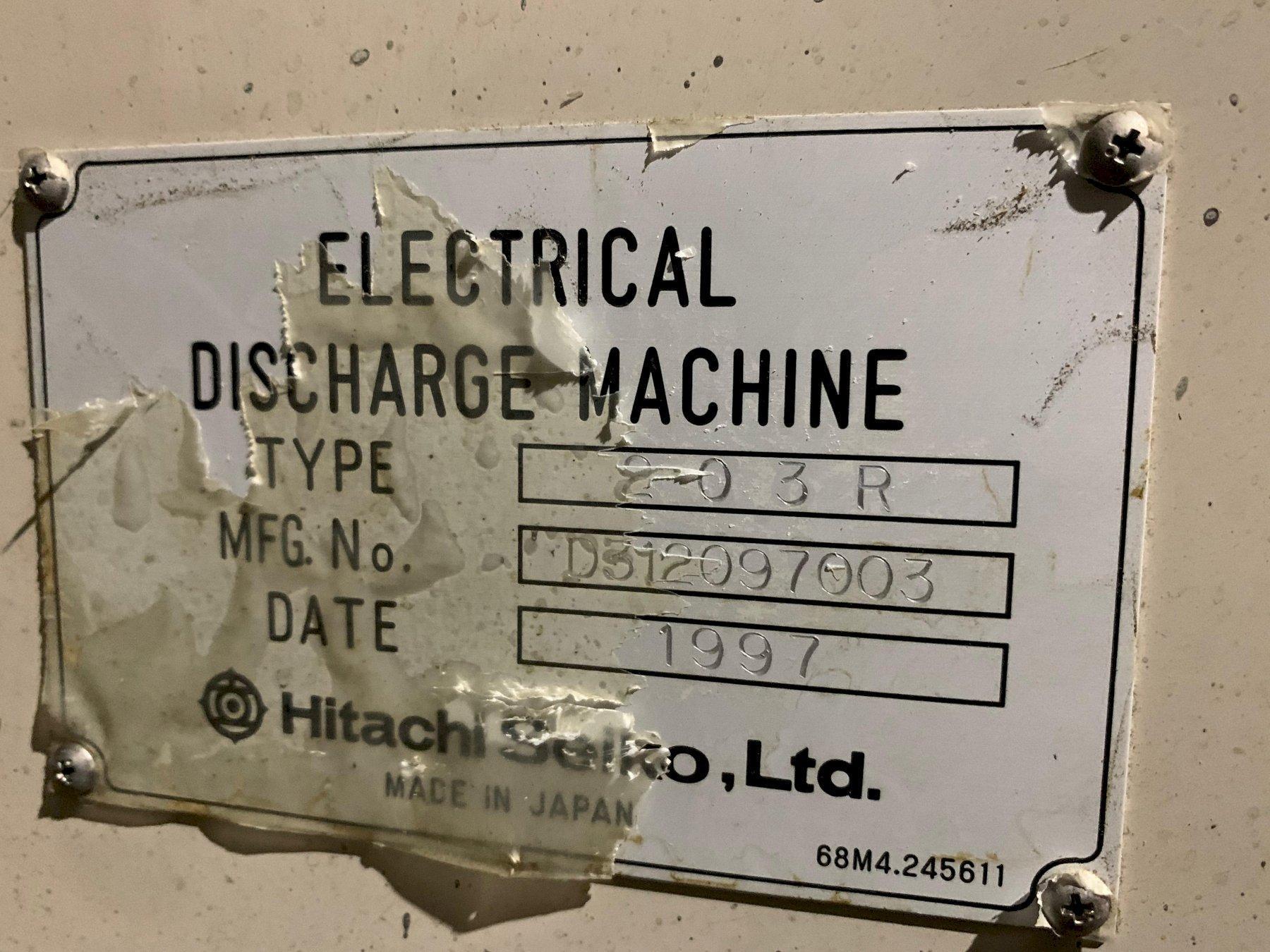 Hitachi 203R Wire EDM