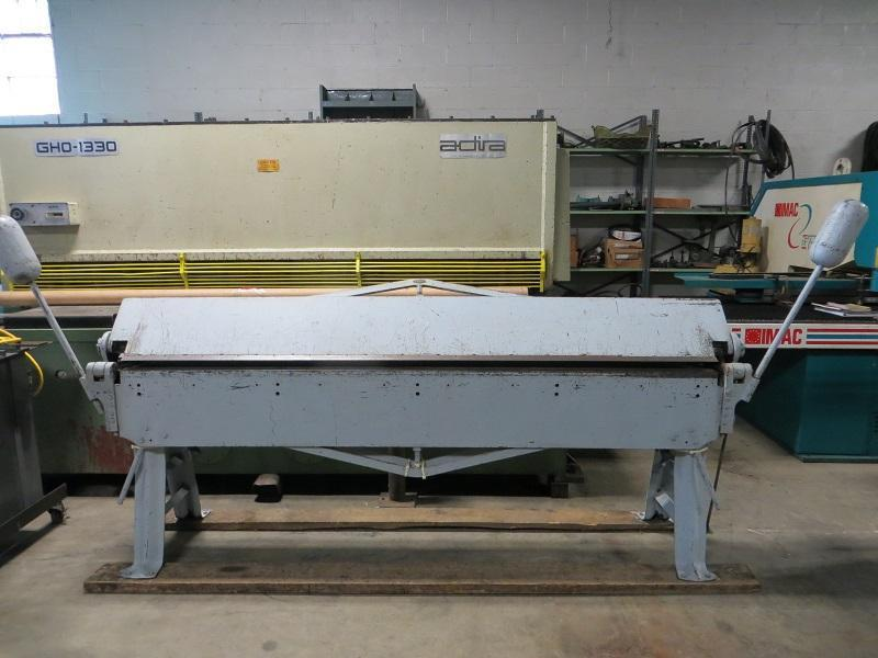 16 Ga x 8 ft Chicago Hand Brake Model 816