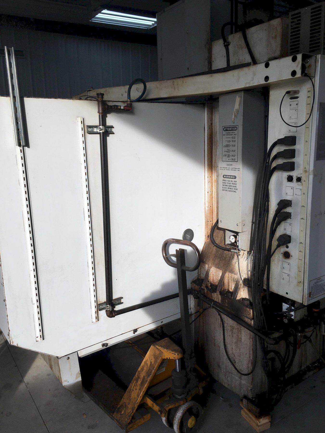 10,000 RPM HAAS Model #VF5 Vertical CNC Machining Center