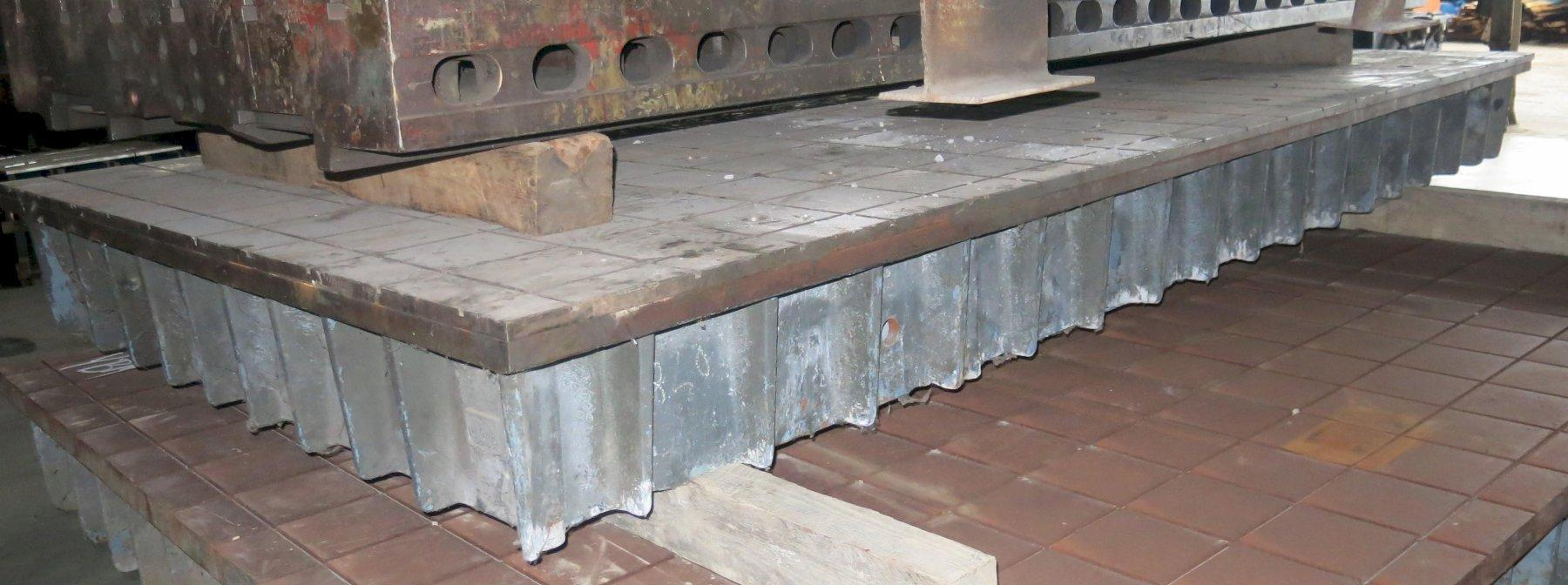 """78"""" X 158"""" x 15"""" PORTAGE GRID TYPE LAYOUT SURFACE TABLE: STOCK #11213"""